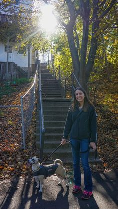 Climbing the Steps of South Side Slopes for Views of Pittsburgh