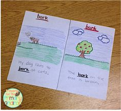 Multiple Meaning Words - Making Them Fun! {from Prepping for the Primary Gridiron} #reading