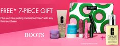 This is Clinique Gift at Boots UK - available online and instore when you buy 2 selected Clinique products.
