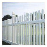 Dog Ear Vinyl Fence Panels