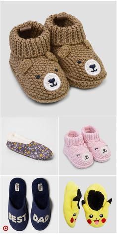 Hand Knitted Black with spotted bow Baby Shoes Premie 3-6 and 6-9 Newborn 0-3