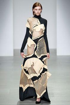 Central St. Martins A/W14 - London Fashion Week