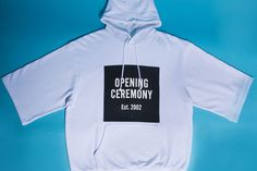 opening ceremony short sleeve logo hoodie Short Sleeve Hoodie a298e0fbd6f