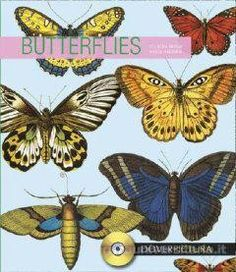 #BUTTERFLIES + CD ROM  The designs and illustrations in this collection have been gathered from many rare and unusual sources. Realistic to decorative images include single designs, combinations, allover patterns, motifs, and a host of other formats. More than 230 images make this treasury an invaluable resource for projects of all kinds.