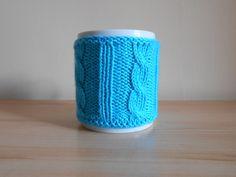 Cosy mug, cache mug, au tricot, fait main : Accessoires de maison par sur-mes-aiguilles