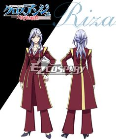 Cross Ange Tenshi to Ryu no Rinbu Riza Cosplay Costume  Cross Ange Tenshi to Ryu no Rinbu Riza Cosplay Costume  http://www.shareasale.com/m-pr.cfm?merchantID=38080&userID=1079412&productID=605974705