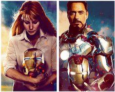 Pepper Potts & Tony Stark - Iron Man 3