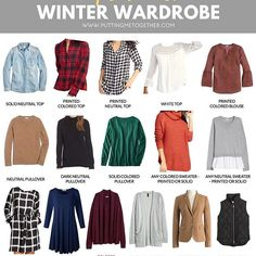 Hey, hey! The capsule wardrobe for the PMT Winter 2018 Challenge is now on the blog! The great news is you can build a winter wardrobe that fits your own style—it doesn't have to look exactly like this to work! If you click into each category there will tons of details and TONS of options for other pieces that will still work with all the outfits for the challenge. Head to the blog to see it all! @liketoknow.it #liketkit http://liketk.it/2tYps #winterwardrobe #capsulewardrobe #wintercapsule…