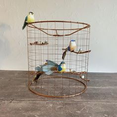 Your place to buy and sell all things handmade Light Shades, Shades Of Blue, Cage Light, Bird Cage, Home Gifts, Copper, Ceiling, Unique, Diy