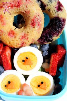 Breakfast Bento, #WishFarms  from NinjaBaker.com  #Japanese #bento #cute #kawaii #弁当  #可愛い #朝ご飯