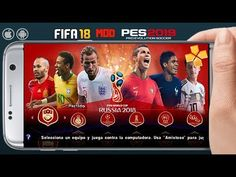 FIFA 18 Mod PES 2019 World Cup Patch Android Download Fifa 17 Ultimate Team, Android Web, Mobile Video, Best Games, World Cup, Online Business, Video Game, Geek Stuff, Baseball Cards