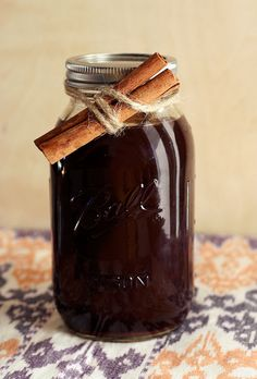 Homemade Chai Tea Concentrate by Tasty Yummies - Refridgerate up to one week. Will make one quart concentrate. Mix 50/50 with 'milk' of choice. Serve hot or iced.