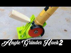 Angle Grinder Hack 2 How to make Portable Grinder Stand - YouTube