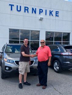 Rick Harris & the rest of the Turnpike Ford team wish to thank Chris Call for his support :)