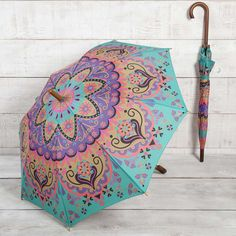 Turquoise Umbrella - Rain or shine, our umbrellas a great accessory! Perfect for…