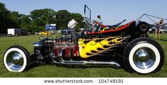 Hot Rod Flames Graphics | HAMPTON, VA-JUNE 9:A T-Bucket at the 3rd annual HCHS car show at the ...