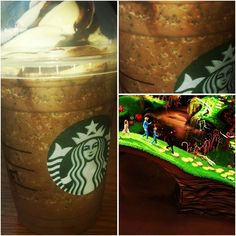Just Added : *WILLY WONKA FRAPPUCCINO* !! If you have a sweet tooth, the Willy Wonka Frappuccino is definitely for you!