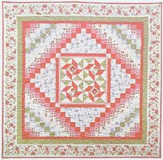 """FREE pattern: """"Elm Creek Quilts: Caroline's Collection"""" by Jennifer Chiaverini (from Red Rooster Fabrics)"""
