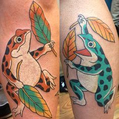 japanese frog tattoo - Google 검색