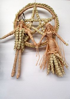 Pagan DIY Altar Goddess Doll PDF Tutorial How to Make Corn Dolly God / Goddess Figures For Sabbats Litha Lammas Morrigan, Brigid, Hecate Wiccan Rituals, Corn Dolly, How To Make Corn, Pagan Wedding, Ribbon Yarn, Sabbats, First Photograph, Handfasting, Silk Flowers