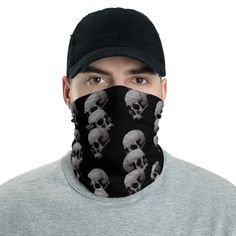 """Can Be used as an awesome Fashionable Bandana Accesory. Take Care , Stay Safe! Best Wishes from for a better """"restart"""" of the Planet! Together We Stand! Together We Stand, Gothic Metal, Metalhead, Neck Warmer, Alternative Fashion, Gothic Fashion, Heavy Metal, Fabric Weights, Sleeve Tattoos"""