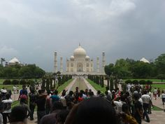 Finally we made it to The Taj Mahal, India