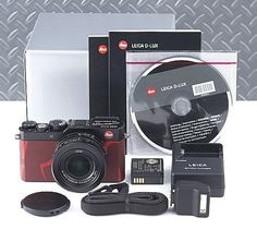 Very rare  Leica D-LUX Typ 109 RSJ Limited Edition The Dresscodes