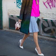 @helenabordon #style #street #styling #stylish #streetstyle #streetfashion #blogger #fashion #fashionable #stiletto #heels #shoes #luxury #white #pink #shirt #bag #luxuryheels #luxuryshoes #luxuryfashion