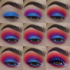 Pin by Vanessa Da SunShine on make up in 2019 Eye Makeup Steps, Makeup Eye Looks, Beautiful Eye Makeup, Eye Makeup Art, Cute Makeup, Skin Makeup, Eyeshadow Makeup, Easy Makeup, Simple Makeup