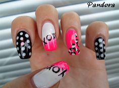 Funny nails by pandora_nails - Nail Art Gallery nailartgallery.nailsmag.com by Nails Magazine www.nailsmag.com #nailart