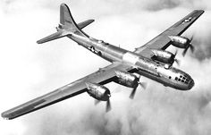 The B-29 was the very long range U.S. strategic bomber used to carpet bomb Japan. It was the largest aircraft to take part in the war