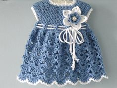 Crochet PATTERN Baby Dress Baptism Dress Pattern Crochet   Etsy Crochet Baby Dress Pattern, Baby Girl Crochet, Crochet Baby Clothes, Newborn Crochet, Baby Dress Patterns, Baby Knitting Patterns, Crochet Patterns, Yarn Sizes, Baptism Dress