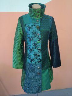 Desigual original coat Dasha Green NWT size 40