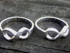 Best Friend Infinity Rings!