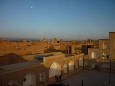 Welcome to Iran · Maptia - Sunset over the city of Isfahan
