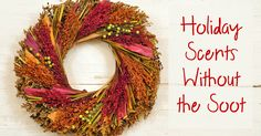 Help your home smell amazing without all the chemicals! Air Conditioning Services, Heating And Air Conditioning, House Smells, Heating And Cooling, Christmas Wreaths, Fresh, Holidays, Cool Stuff, Holiday Decor