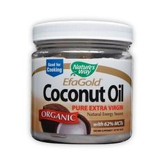 Coconut oil has so many health benefits... from being a great moisturizer to offering thyroid/energy/weight loss support. It's really great stuff.