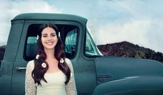 Complete photo by Chuck Grant of Lana Del Rey's 'Lust For Life' cover #LDR
