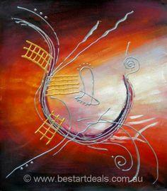 Abstract Art On Canvas http://bestartdeals.com.au