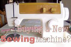 Ozark Mountain Family Homestead: Sewing Machine Advice