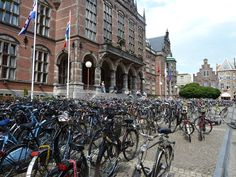 Groningen - the world's most bike-friendly city - 50% of all travel done by bicycle - 60% in the inner city. Be aware, they own cars, but limit usage - traveling mostly by bicycle - and demonstrate it IS possible to reduce excessive carbon emissions and carbon-energy usage of the private automobile - IF we want to.. and make an effort. Also: http://www.treehugger.com/bikes/short-film-amsterdam-will-blow-your-mind-video.html