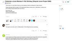 70ste verjaardag - een feestje op Disquiet Junto project [0280] - more songs on http://on.dailym.net/2qdcnh4 #70Ste-Verjaardag, #Celebrate, #Discussie, #Discussion, #Disquiet-Junto, #Disquiet0280, #Feliciteren, #Frederic-Rzewski