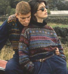 Bellmanear sweaters from Rowan Magazine 4