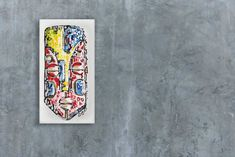 Original Painting on Canvas by Thabi Art Fusion. Available on capsun-art. African Paintings, African Masks, Original Paintings, Make It Yourself, The Originals, Canvas, Interior, Inspiration, African