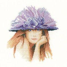Miranda Miniature Cross Stitch Kit - £14.25 on Past Impressions | by Heritage Crafts