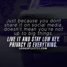 #quotes #privacy #growth #socialmedia #facebook #work