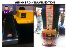 WISSHH Bag - Travel Edition Dimensions: 55x40x20 - The lightest & Cheapest carry-on and multipurpose bag. wisshh.myshopify.com