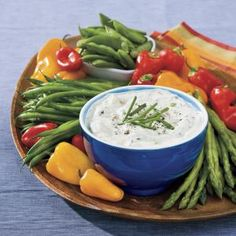 This appetizing Bacon-Onion Dip boasts minimal prep time and pairs perfectly with assorted fresh vegetables.