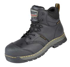 813adfd6d715b Dr Martens Surge ST Waterproof Safety Boot Black