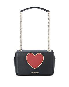 Moschino Love borsa nera trapuntata | Borse nere, Borsa